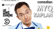 Comedian Myq Kaplan Brings Laughter to Warehouse Theatre