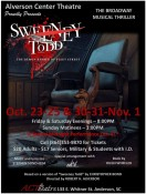 Alverson Center Theatre to Hold Auditions for 'Sweeney Todd'