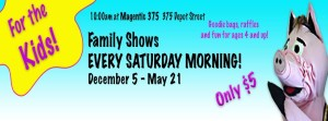 Attic Salt Presents Family-Friendly Theater Every Saturday at 10 a.m. @ Magnetic Theatre