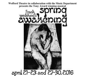 Spring Awakening at Wofford College @ Wofford College - Tony White Theatre