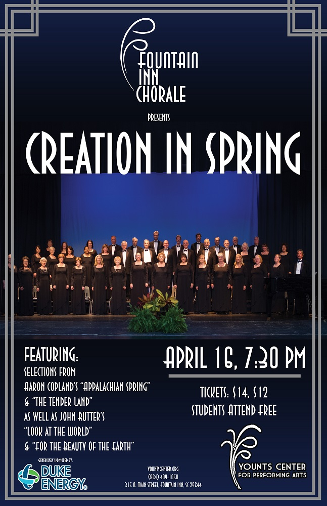 Fountain inn Chorale Creation_in_Spring1