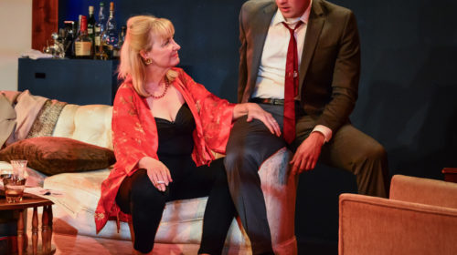 REVIEW: NC Stage Proves It's Not Afraid of Hard-Core Drama in Riveting 'Virginia Woolf'