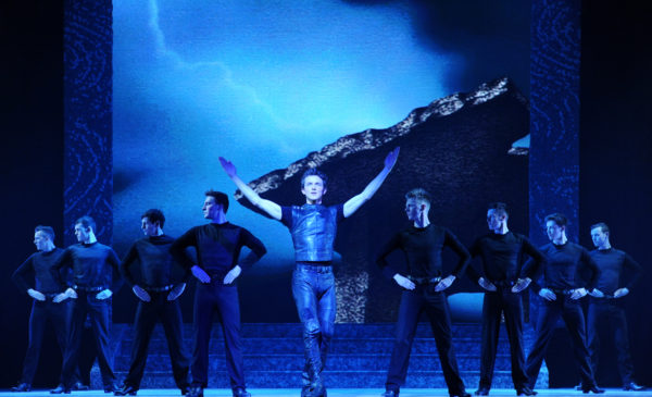 "The cast of ""Riverdance."" Photo by Jack Hartin"