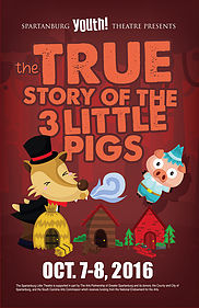 The True Story of The Three Little Pigs at Spartanburg Youth Theatre @ Chapman Cultural Center | Spartanburg | South Carolina | United States