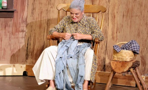 "Anne Robards is Granny Clampett in ""The Beverly Hillbillies"" at the Foothills Playhouse. Photo by Escobar Photograpghy"