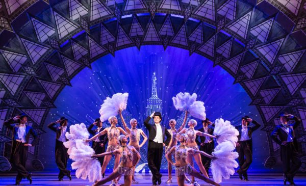 """The cast of """"An American in Paris."""" Photo by Matthew Murphy."""