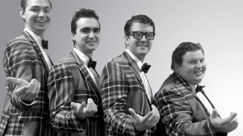 SPECIAL PREVIEW: Mill Town Players Paint Pelzer 'Plaid' with '50s Harmonies