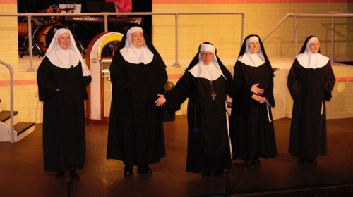 "REVIEW: The Laughs are Habit-Forming in Foothills Playhouse's ""Nunsense"""