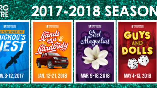 Spartanburg Little Theatre Announces 2017-18 Season with Style