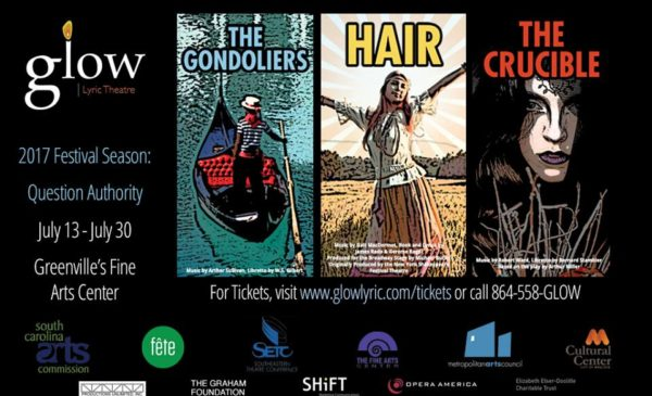 Glow Lyric Theatre Presents 'The Gondoliers'