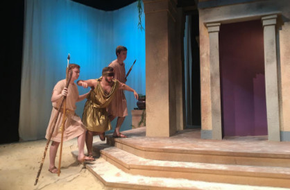 REVIEW: AU's 'Oedipus Rex' in No Tragedy. It's Transcendent!