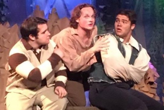 REVIEW: Limestone College Students Sustain Lively 'Peter and the Starcatcher'