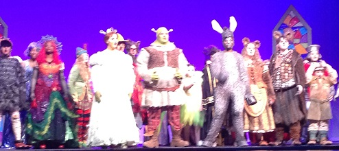 REVIEW: Dorman High School Serves Splendid Fairy Tale Production of 'Shrek'