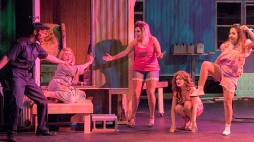 REVIEW: Shoestring Players Hit Below the Belt in Riotous 'Great American Trailer Park Musical'