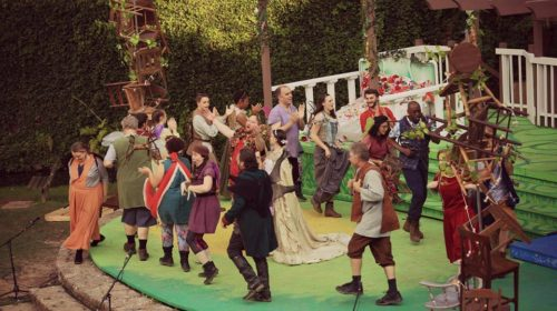 'Midsummer Night's Dream' Brings Magical Whimsy to Upstate Shakespeare Festival