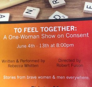 REVIEW: 'To Feel Together' Presented by One Woman, Pertaining to Many Individuals