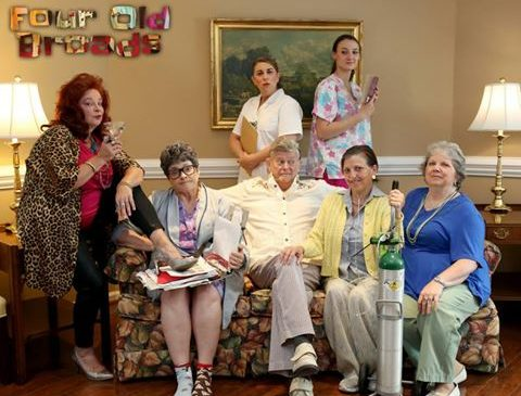 REVIEW: 'Four Old Broads' Thrive with Laughter at Centre Stage