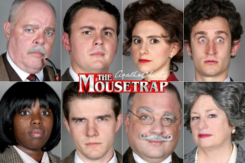 'The Mousetrap' at the Greenville Little Theatre @ Greenville Little Theatre