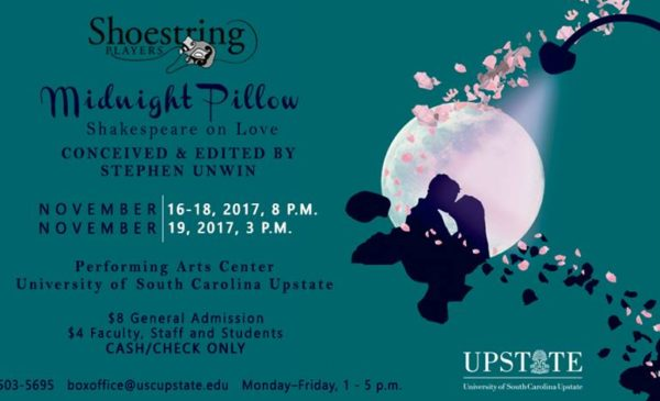 'Midnight Pillow' at USC Upstate @ USC Upstate Performing Arts Center | Spartanburg | South Carolina | United States