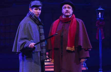 REVIEW: Sherlock Holmes is on a Jaunty 'Goose' Chase in GLT Christmas Mystery