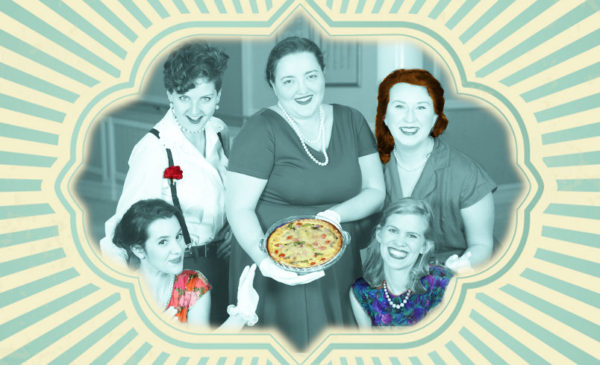 5 Lesbians Eating A Quiche by Proud Mary Theatre @ Converse College - Laird Studio Theatre | Spartanburg | South Carolina | United States