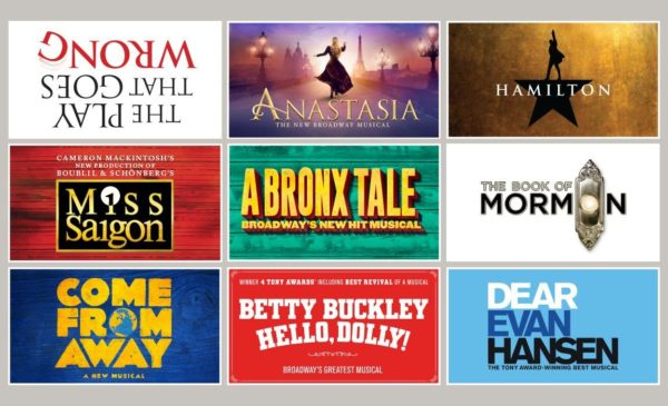 Hamilton, Come From Away, Hello,Dolly! Part of Peace Center Broadway Season