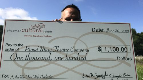 Proud Mary Theatre Company Awarded Chapman Cultural Center Grant