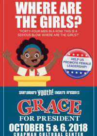 SYT Opens New Season with Grace for President, The Musical