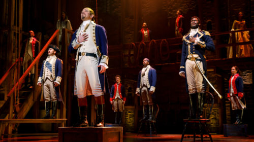 Peace Center Unveils $10 'Hamilton' Ticket Lottery