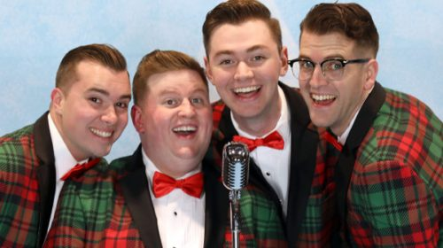 The Plaids are Back with Yuletide Charm