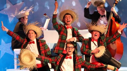 REVIEW: Mill Town Players' 'Plaid Tidings' is Perfect Yuletide Insanity