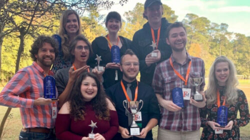 Market Theatre Company Sweeps State Competition with 'The 39 Steps'